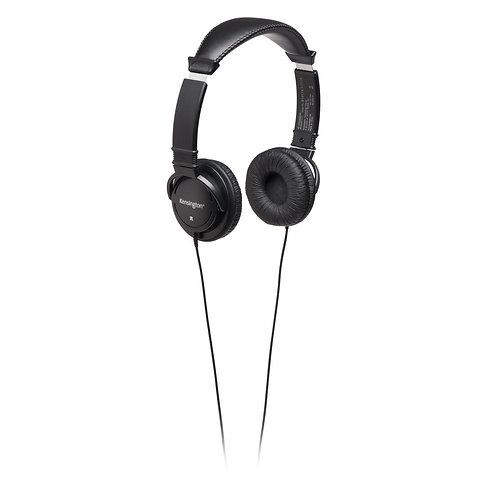 Écouteurs Kessington noir type casque ferme