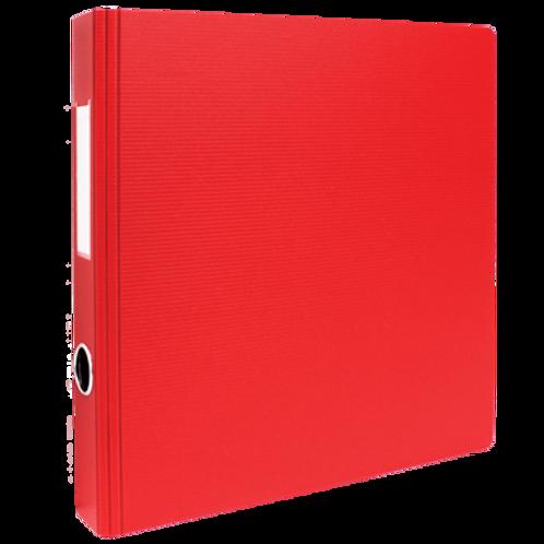 Cartable 1 pouce (rouge) sans pochette