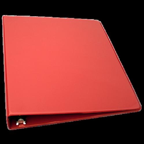 Cartable 1 pouce (rouge)