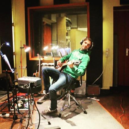 Aufnahme neues Album-Red Rooster Studio