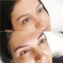 Ombre/Powder-Fill Eyebrows