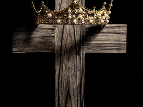 You have to experience the cross to wear the crown. . . . .