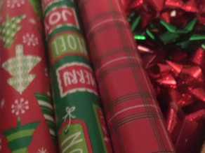The perfect Christmas is not about making your own wrapping paper.