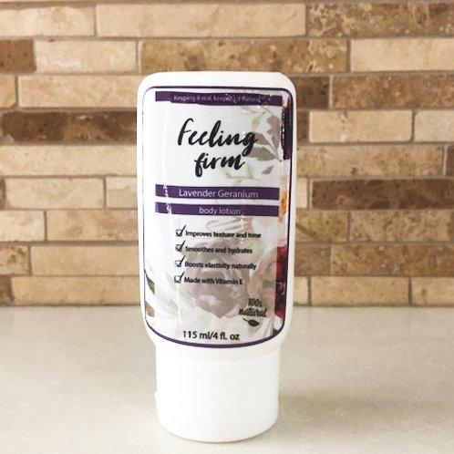 Feeling firm body lotion (Lavender & Geranium)