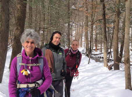Spring Hiking ... in the Snow!