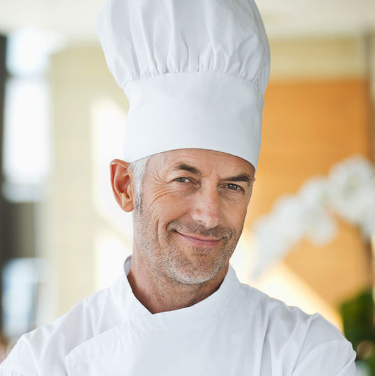 Chef with Hat