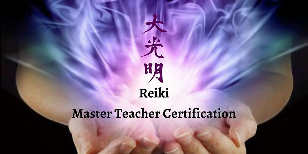 Reiki Master Level III Teacher Certification