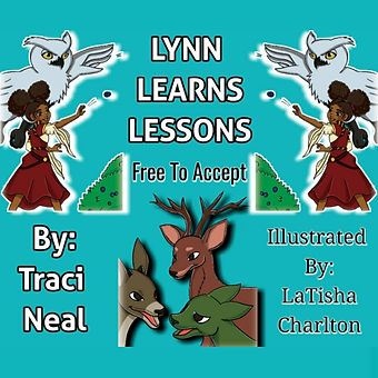 Book Cover- Lynn Learns Lessons: Free To Accept