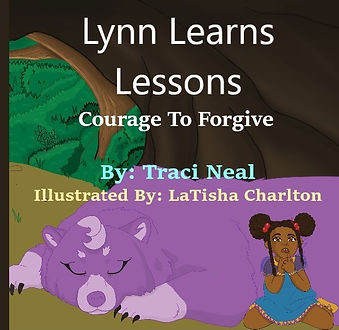 Book Cover- Lynn Learns Lessons: Courage To Forgive