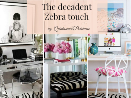 A touch of Zebra