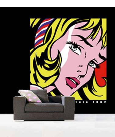 Un intérieur chic ... inspiré du Pop Art par Opus Rouge