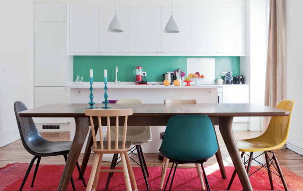 MilkMagazine Appartement coloré