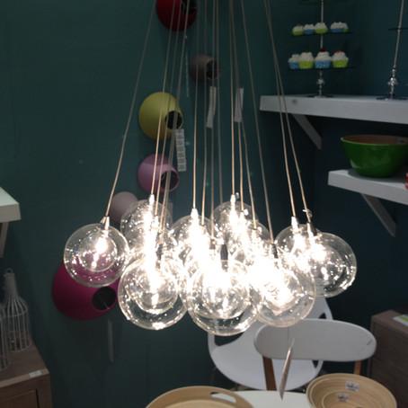 Lumières au salon Maison & Objet Paris (janvier 2014)
