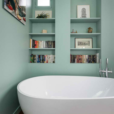 Une salle de bains plus stylée par Côté Maison