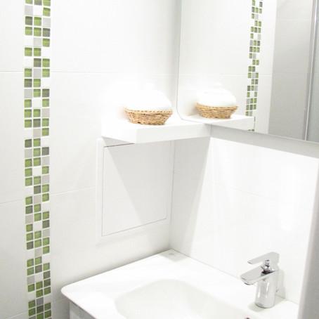 Salle de bain rénovée pour un couple d'expats