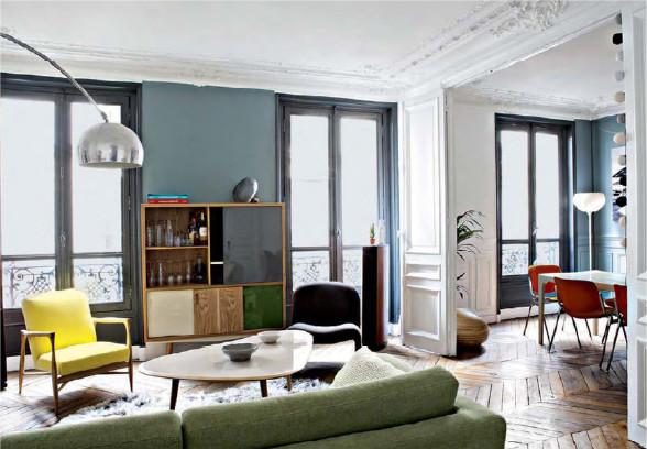Fenetres grises red-edition Decoration intérieur paris expatrie decorexpat