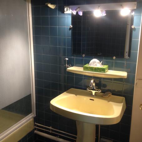 Rénovation d'une petite salle de bain: les travaux