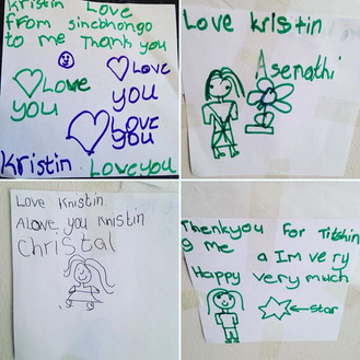 Little love notes from my kiddos at the