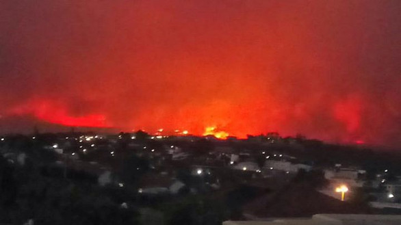 Please Pray!!! The wildfires have been b