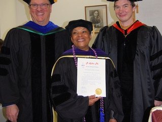 Christiane Taubira inducted into Pi Delta Phi
