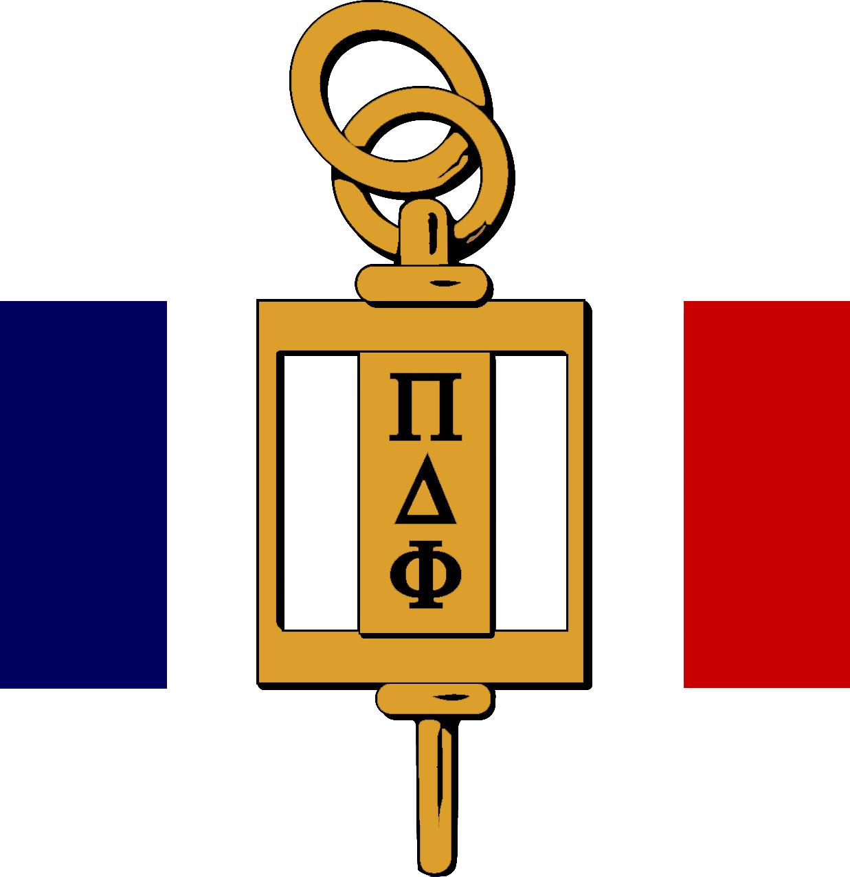 pi delta phi the national french honor society