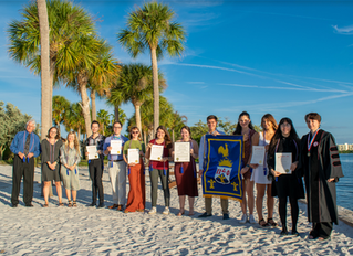 Chapter Pi Psi at Eckerd College