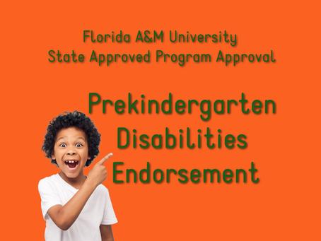 Florida A&M University State Approved Program Approval