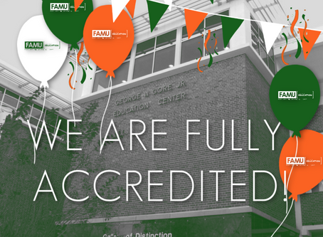 FAMU College of Education Receives Full Accreditation