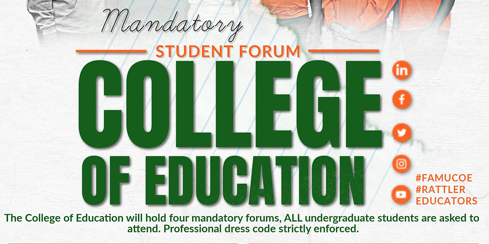 College of Education | Student Forum
