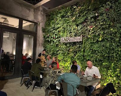 Kyu Wynwood Miami Vertical Garden