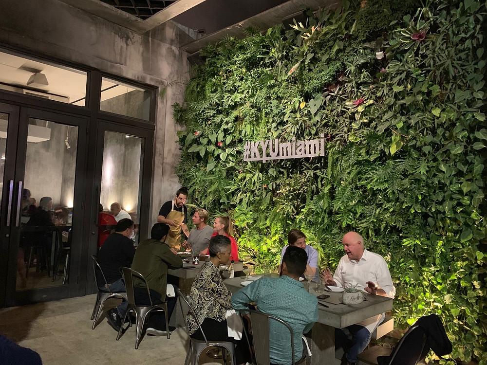 KYU Miami Wynwood Living Wall, Vertical Garden