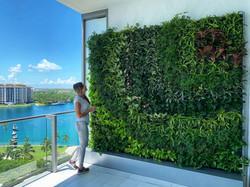 Apogee Condo Miami Vertical Garden