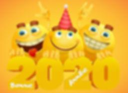 carte-bonne-annee-2020-smileys-mignons-1