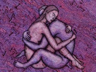 Quando os amantes se tocam, a respiração e os batimentos cardíacos se sincronizam enquanto a dor dim
