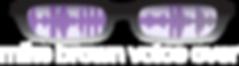 Voiceover artist logo