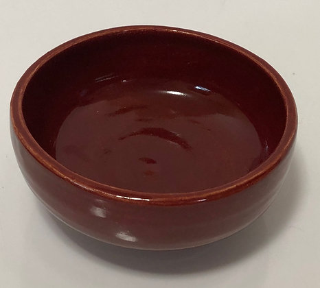 Red Cereal/Soup Bowl
