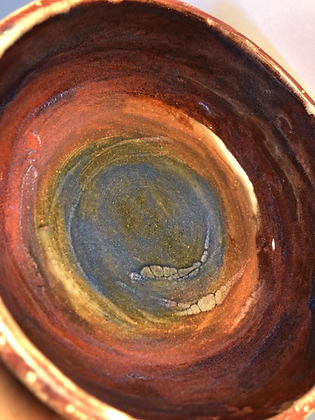 Rainbow cereal bowl