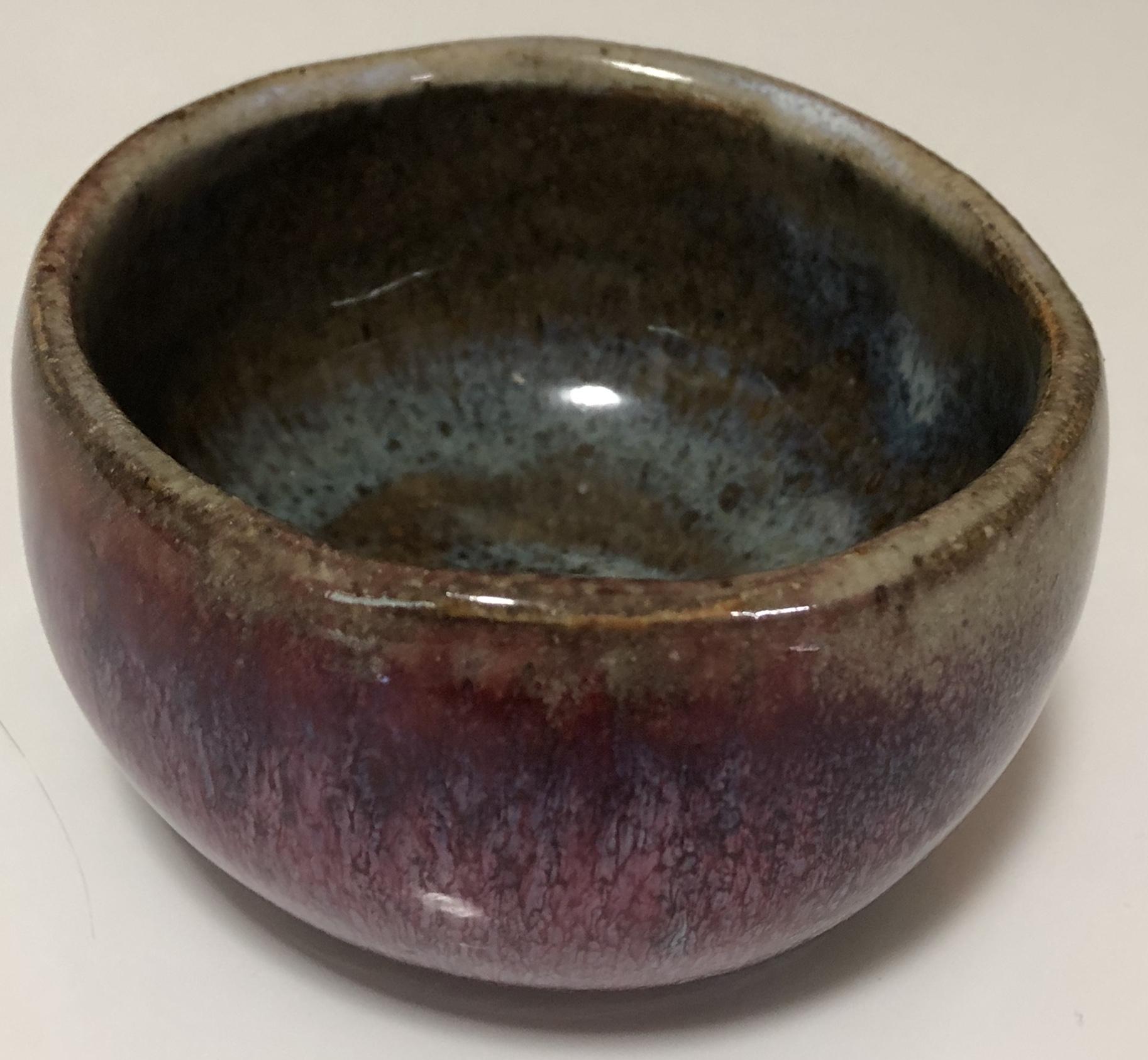 Purple bowl