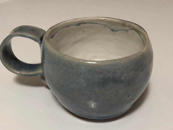 Chunky Denim blue coffee cup