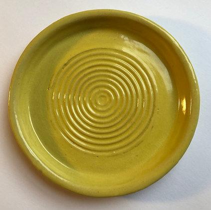 Yellow cake plate