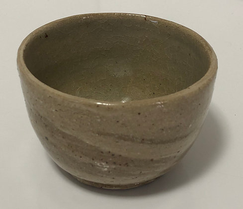 Marbled clay snack bowl