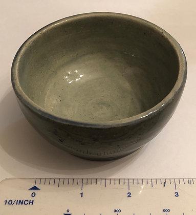 Light teal snack bowl