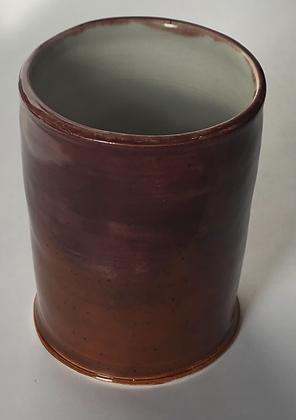 Brick orange water cup