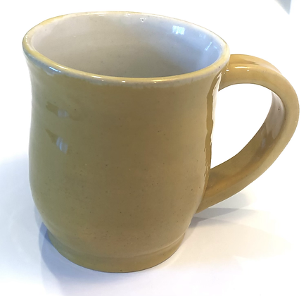 Happy yellow coffee cup