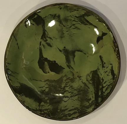 Jade marble plate's sister