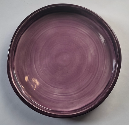 Purple and orchid plate 7""