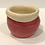 Thumbnail: Red and white planter