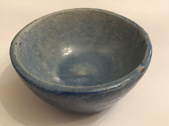 Denim blue snack bowl