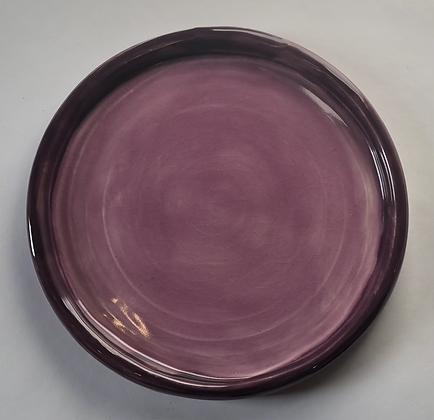 """Purple and Orchid 8"""" plate"""