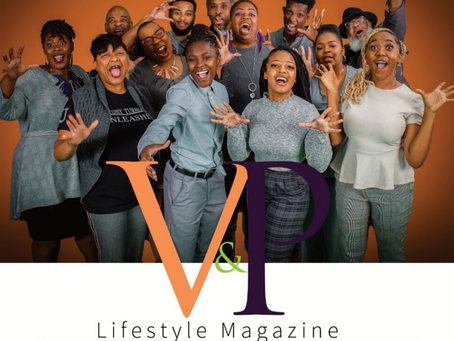 Vision & Purpose LifeStyle Magazine Launched March 6, 2020!